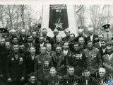 Ветераны ВОВ  9 мая 1975г