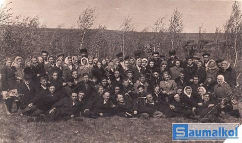 Жители  села Литвиновки.